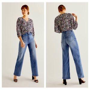 NWT R-Jeans High Rise Wide Leg 32